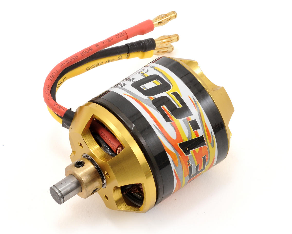 Electrifly RimFire 1.20 50-65-450 Brushless Outrunner Motor (450kV) by Great Planes