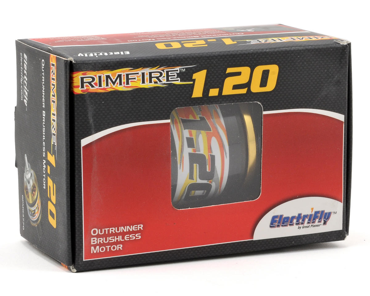 Great Planes Electrifly RimFire 1.20 50-65-450 Brushless Outrunner Motor (450kV)