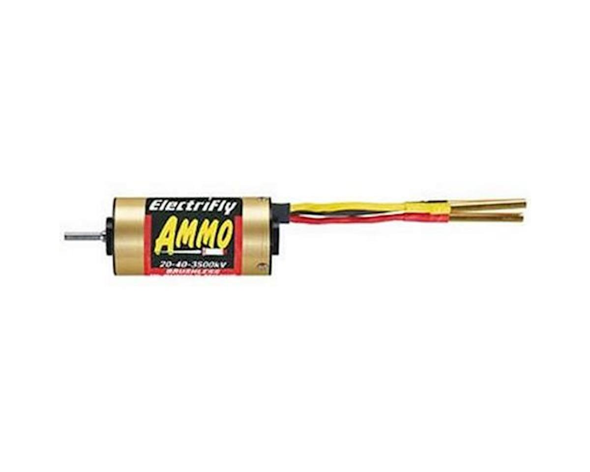 Great Planes Ammo 20-40-3500Kv Brushless Inrunner Motor