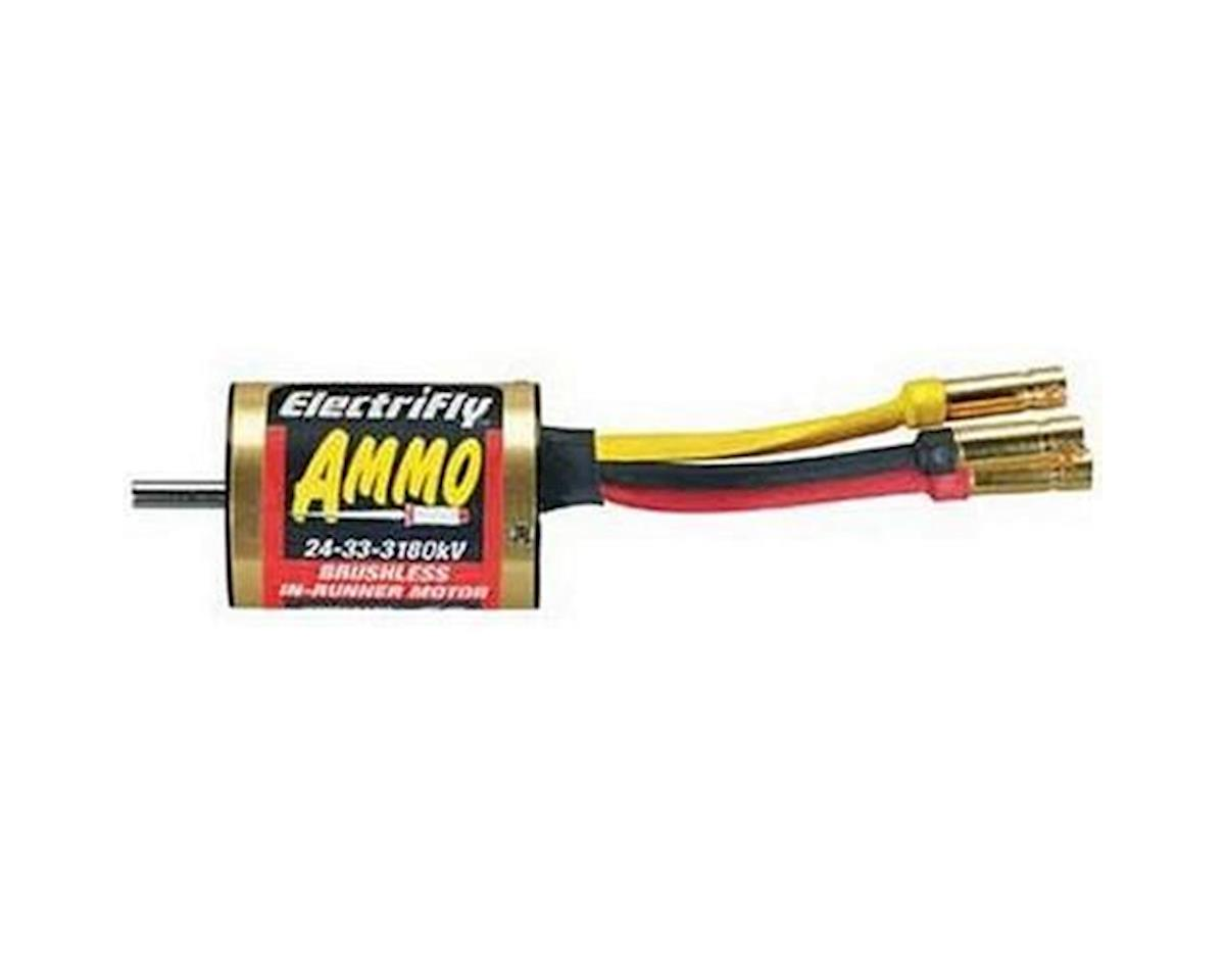 Great Planes Ammo 24-33-3180Kv Brushless Inrunner Motor