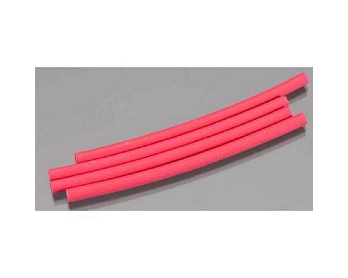 "Great Planes 1/8"" Heat Shrink Tubing (4) (Red)"
