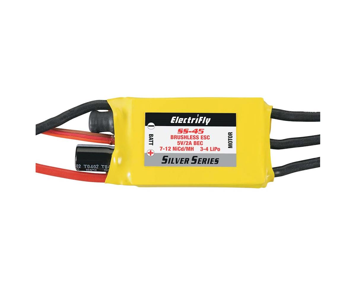 Great Planes ElectriFly Silver Series 45A Brushless ESC 5V/2A BEC