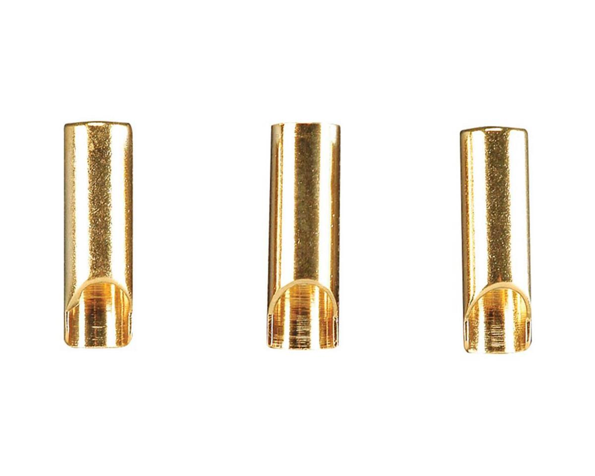 Gold Plated Bullet Connector Female 3.5Mm 3Pc by Great Planes