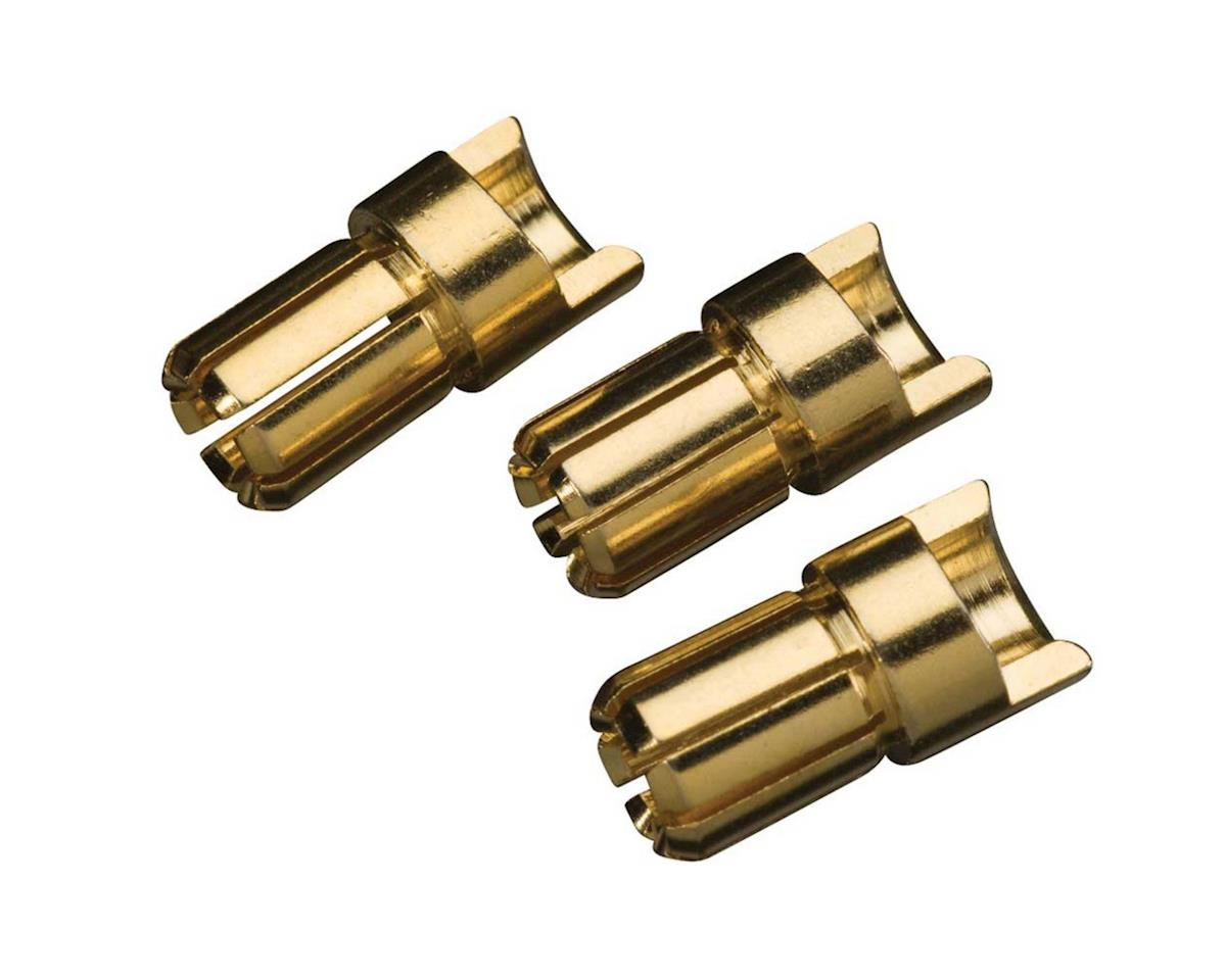 Great Planes Manufacturing  Goldplatedbulltconmale Highcurrent6mm3pc