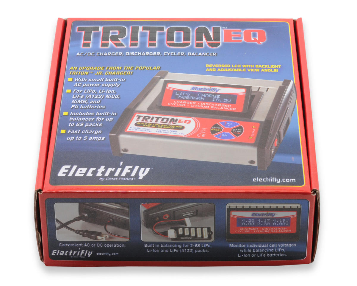 Great Planes Triton EQ AC/DC Charger Balancer