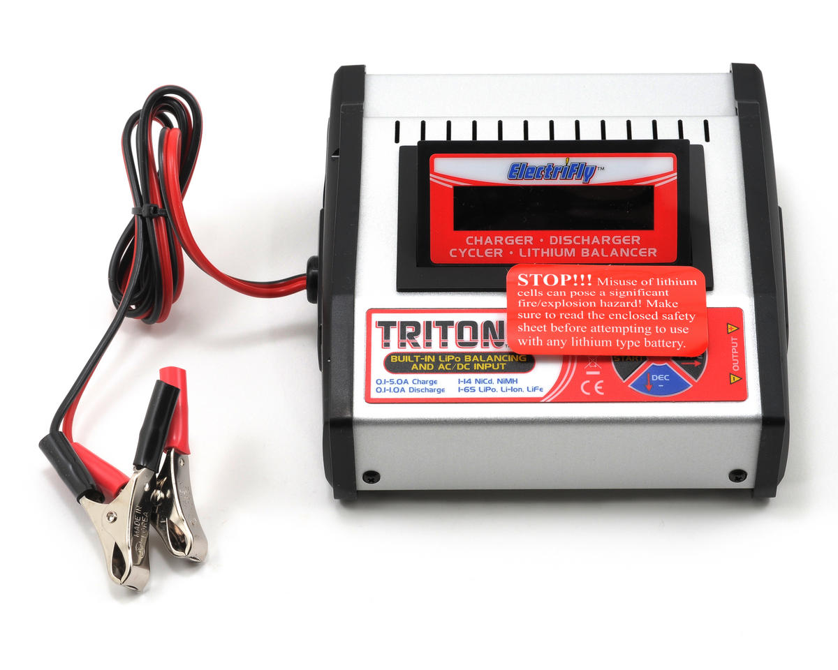 Great Planes Triton2 EQ AC/DC Charger Balancer