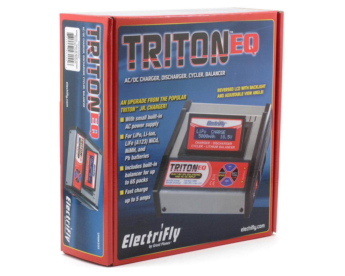 Triton2 EQ AC/DC Charger Balancer by Great Planes