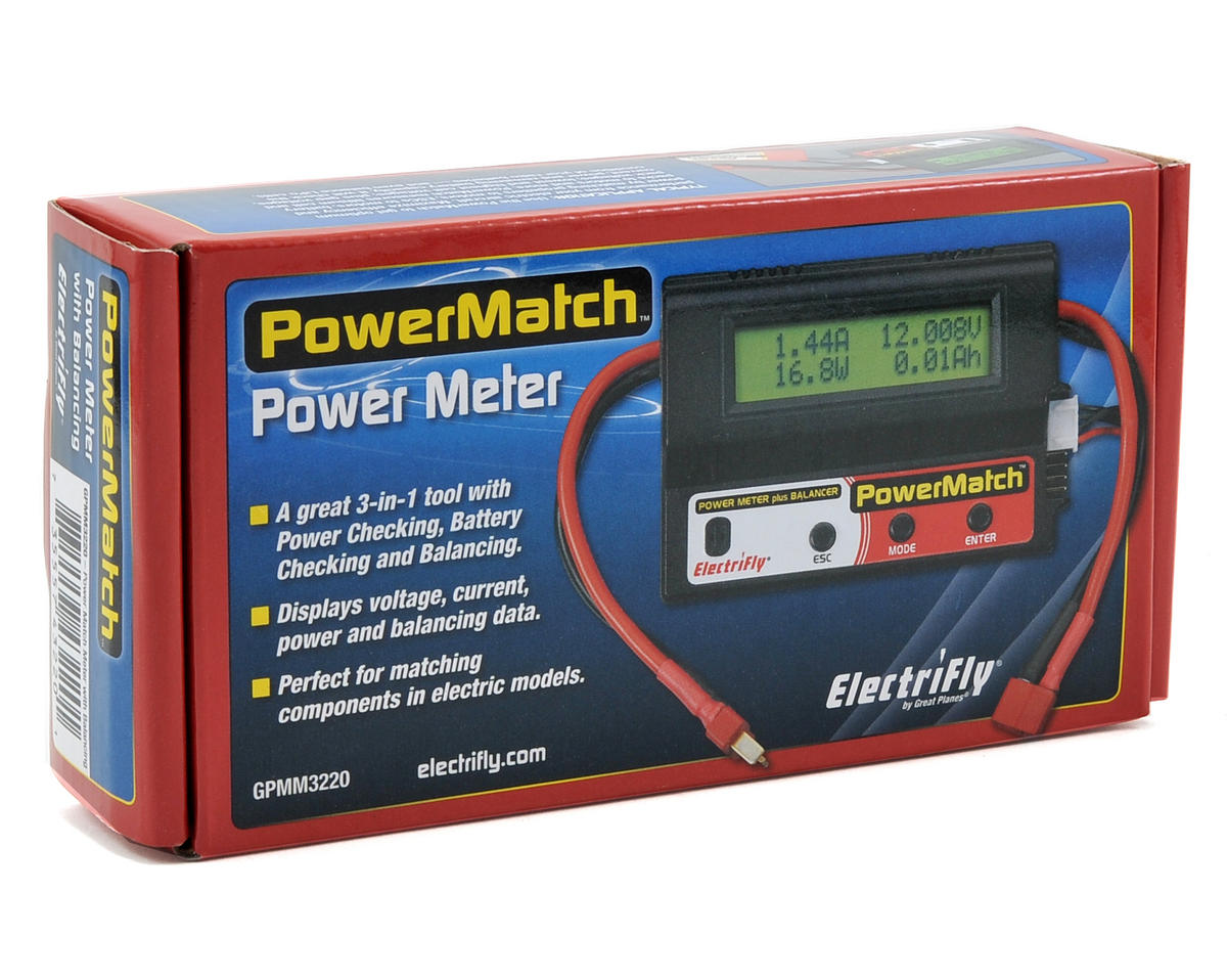 Great Planes Electrifly PowerMatch Power Meter