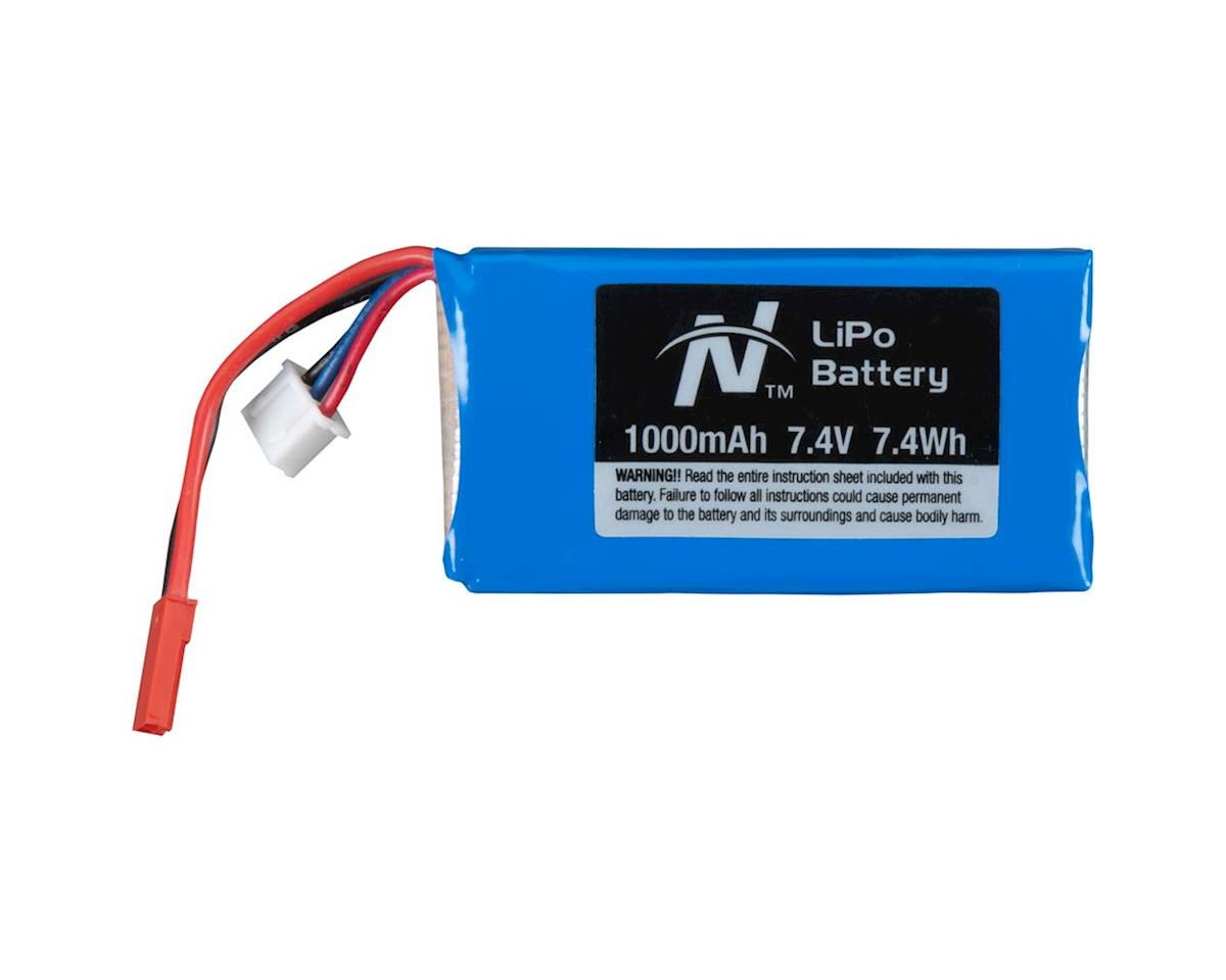LiPo 2S 7.4V 1000mAh Novus 200 FP by Great Planes