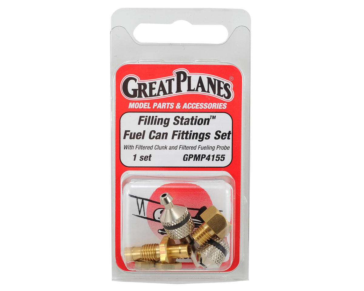 Filling Station Can Fitting Set by Great Planes