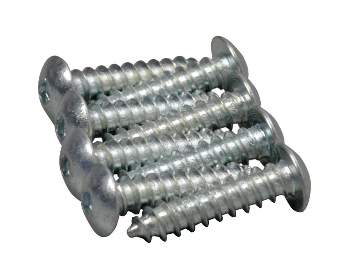 Great Planes Button Head Sheet Metal Screws 4x1/2  (8)