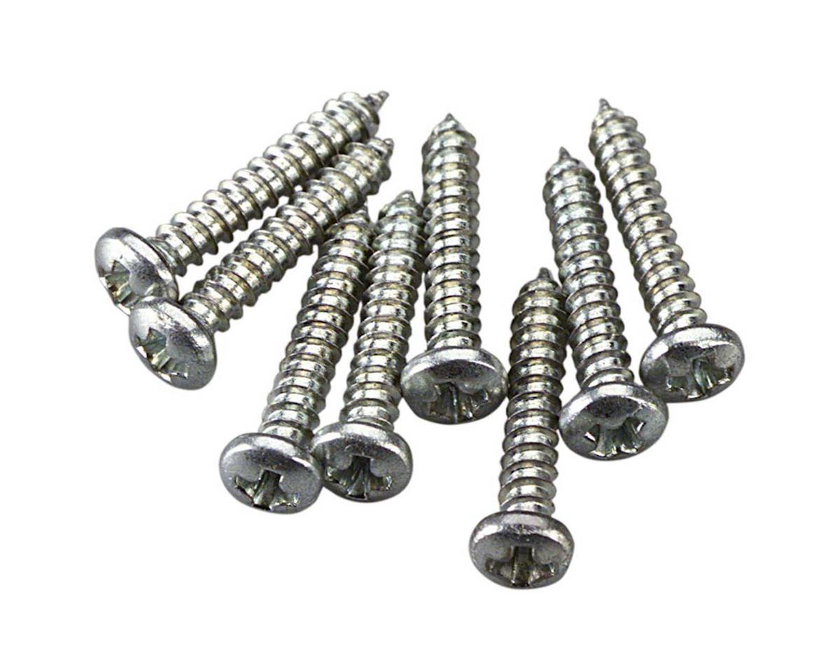 Great Planes  Sheet Metal Screws Phillips 2X1/2 8Pc