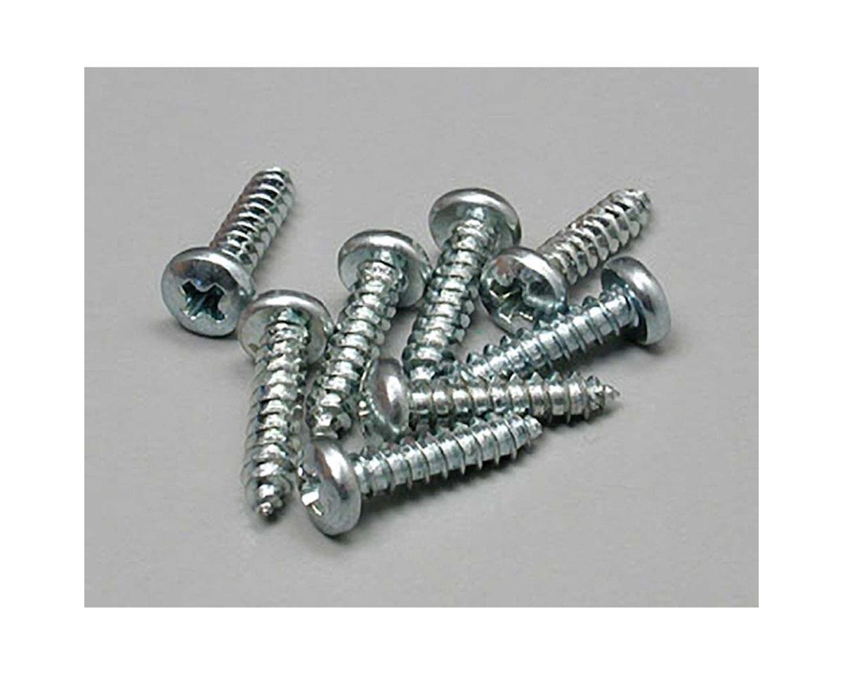 Great Planes  Sheet Metal Screws Phillips 4X1/2 8Pc
