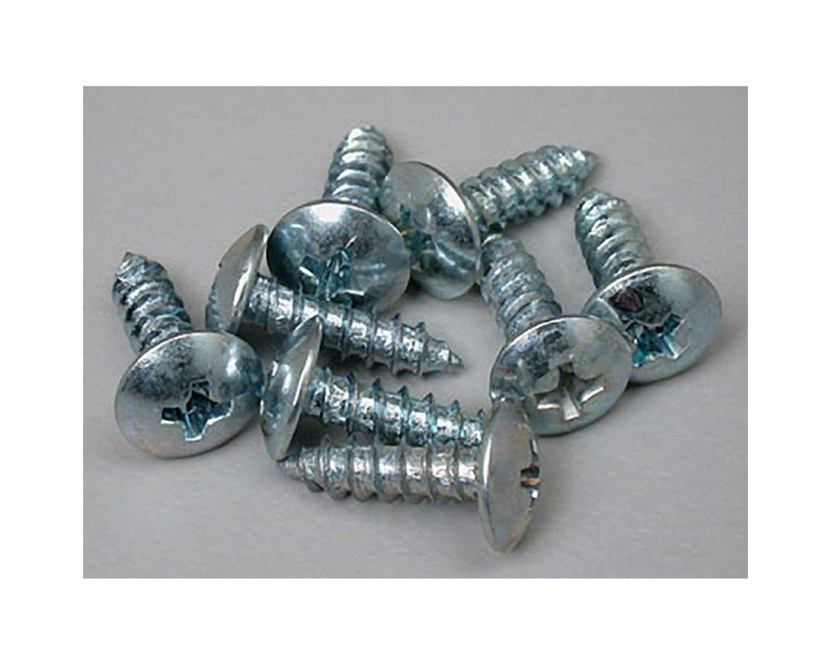 "Great Planes Sheet Metal Screws Phillips 6x1/2"" (8)"
