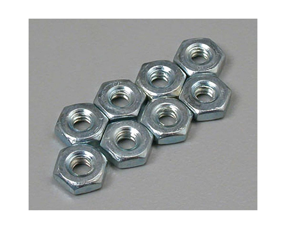 Great Planes Hex Nuts 6-32 (8)