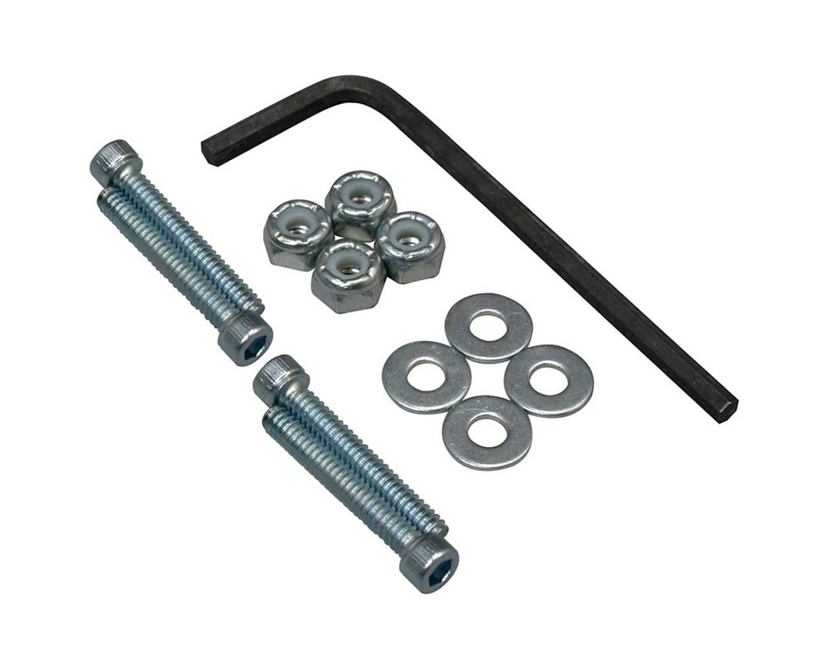 Great Planes Bolt Set/Locknuts 4-40x3/4  (4)