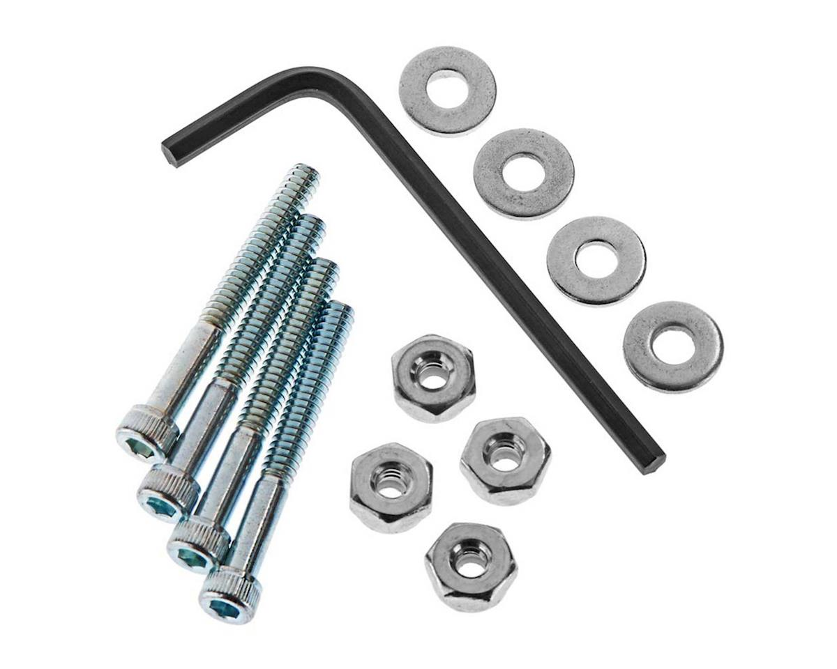 Great Planes Bolt Set/Locknuts 6-32x1-1/4  (4)