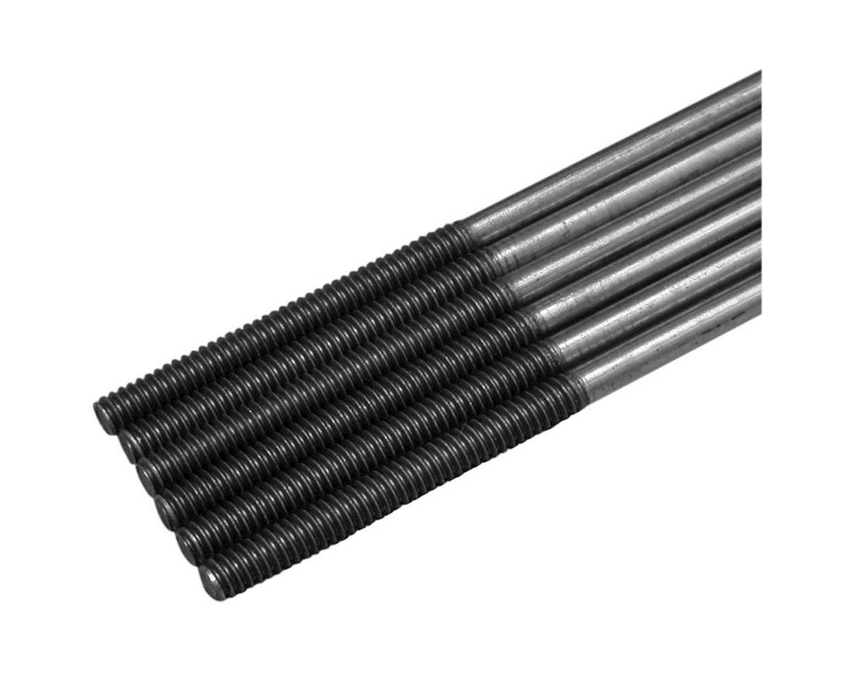 Great Planes Threaded Pushrods 4-40x12  (6)