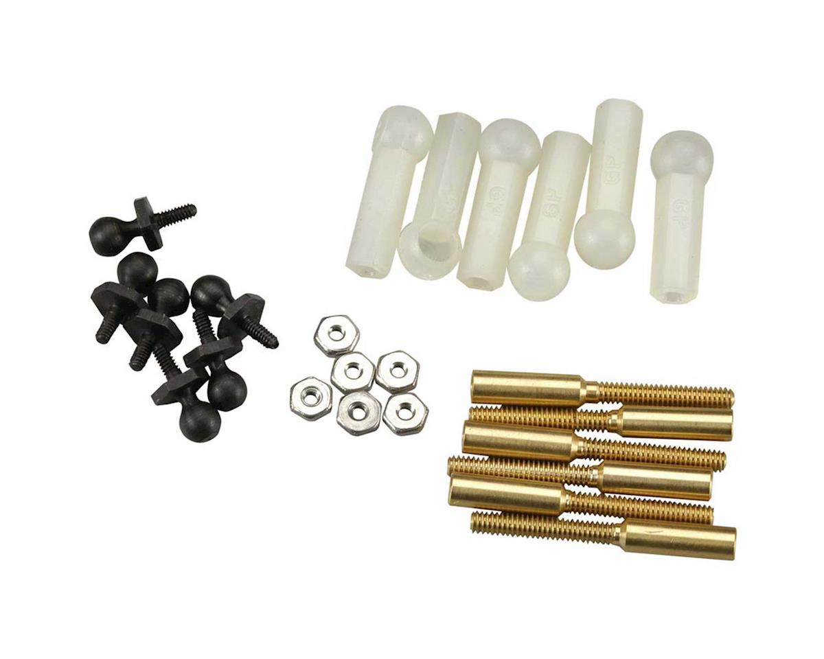 Great Planes  Threaded Ball Link 1/16 6Pc