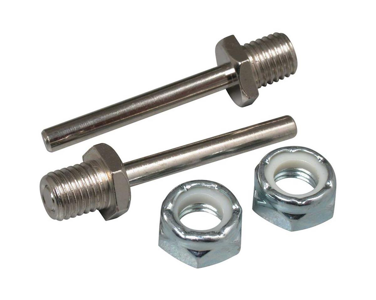 "Great Planes  Bolt-On Axle 1-1/4X5/32"" 2Pc"