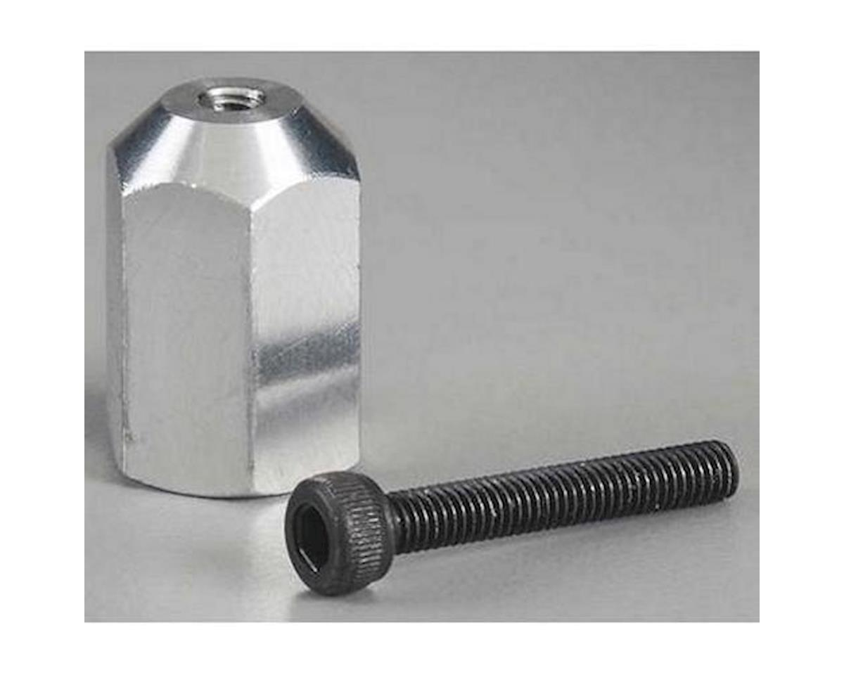 Great Planes Aluminum E-Spinner 1/4 -28 Adapter