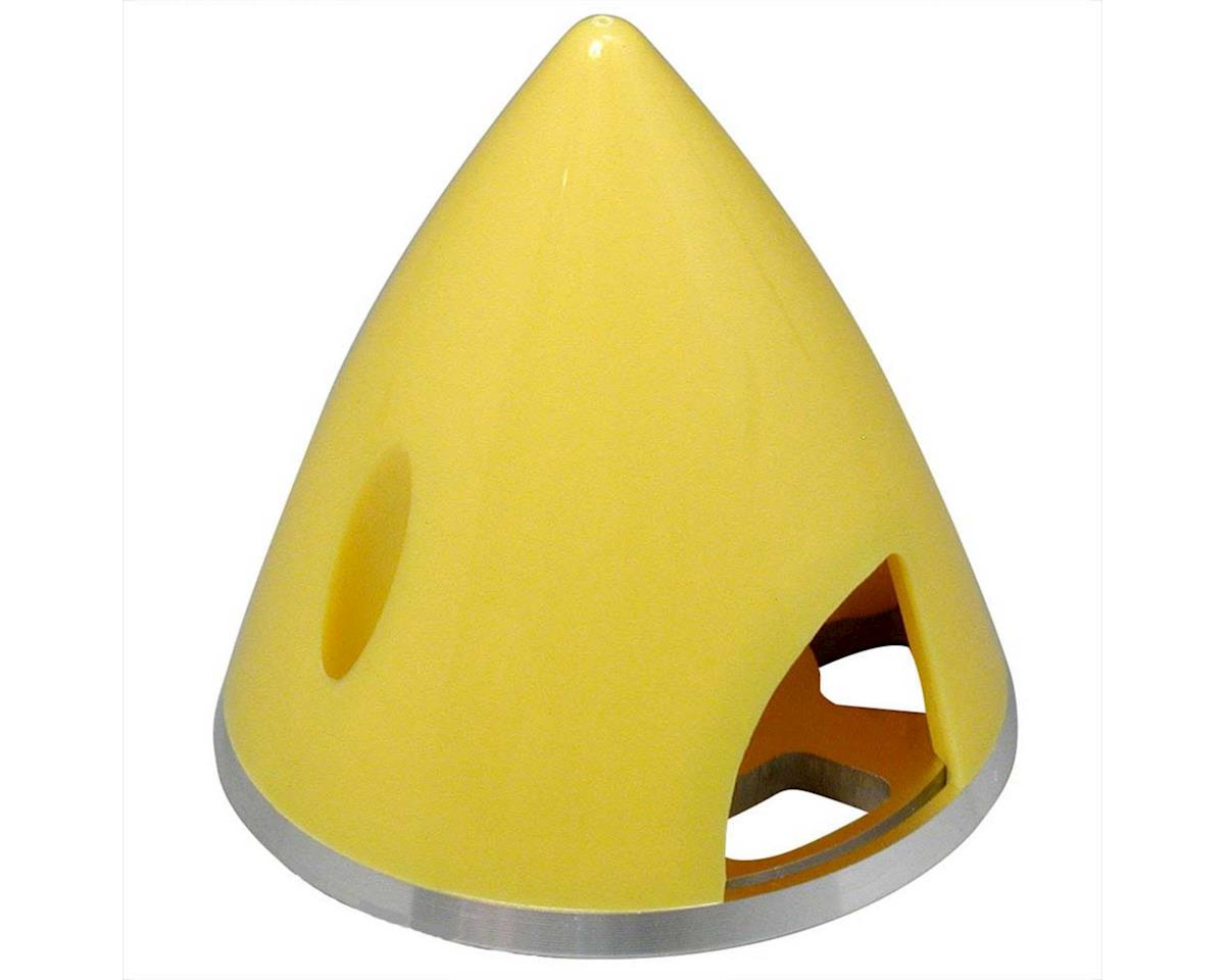 Great Planes Spinner 2  Nylon Alum Yellow
