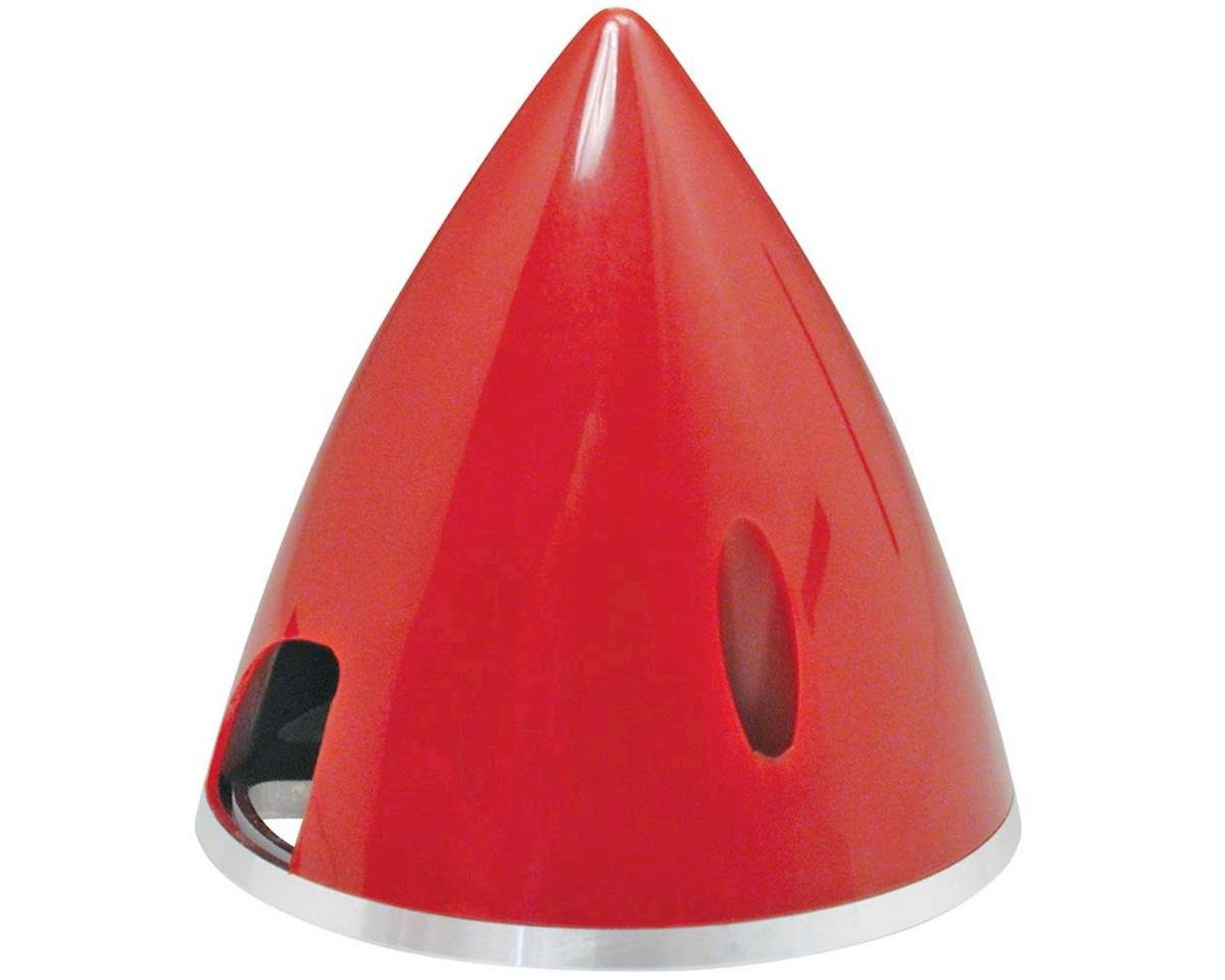 "Spinner 2-1/2"" Nylon Alum Red by Great Planes"