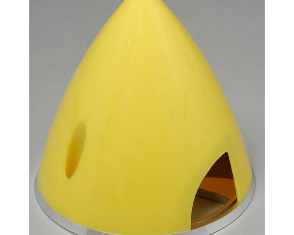 "Great Planes Spinner 2-1/2"" Nylon Alum Yellow"