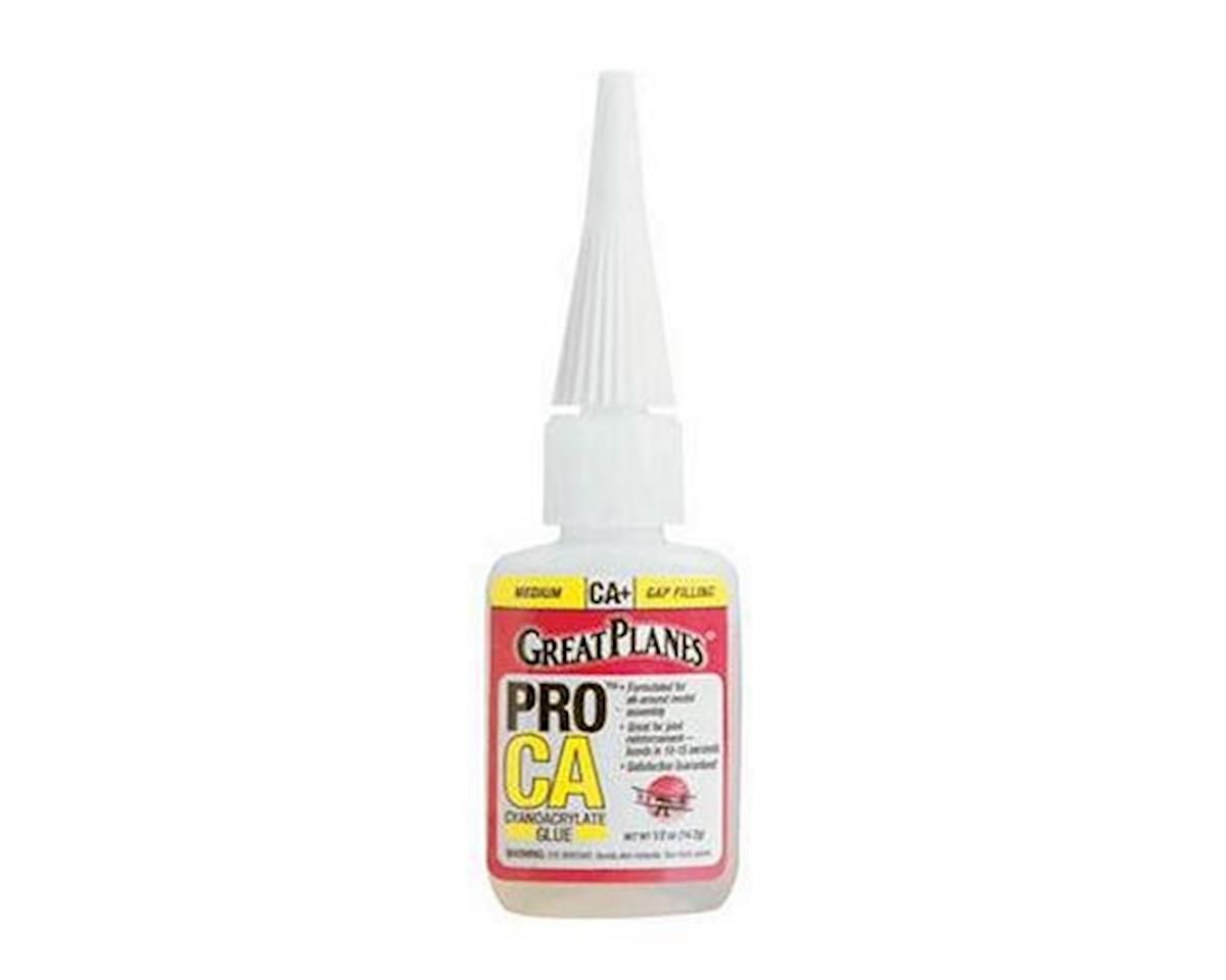 Great Planes Pro CA+ Glue Medium (0.5oz) | relatedproducts