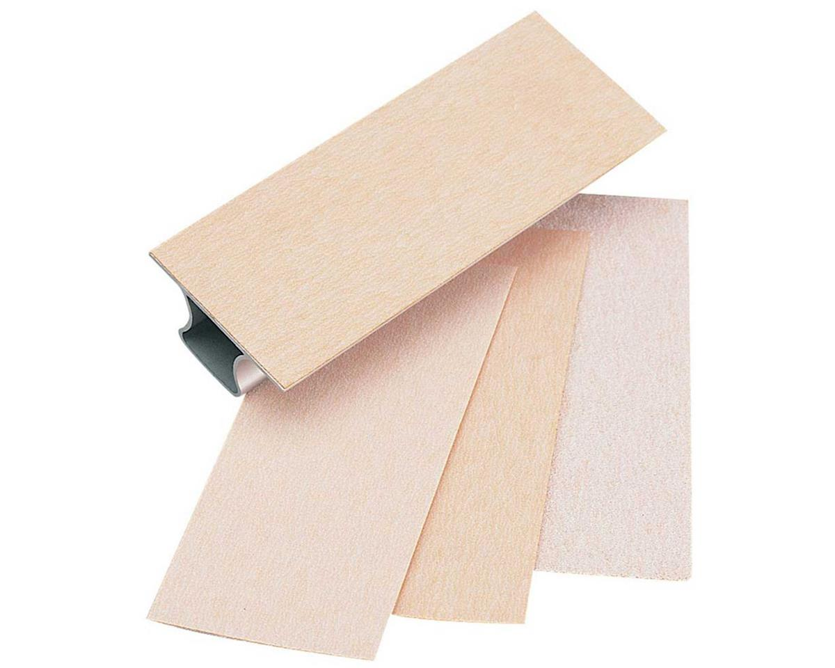 Easy-Touch Sandpaper Asst 2.25X5.5 by Great Planes
