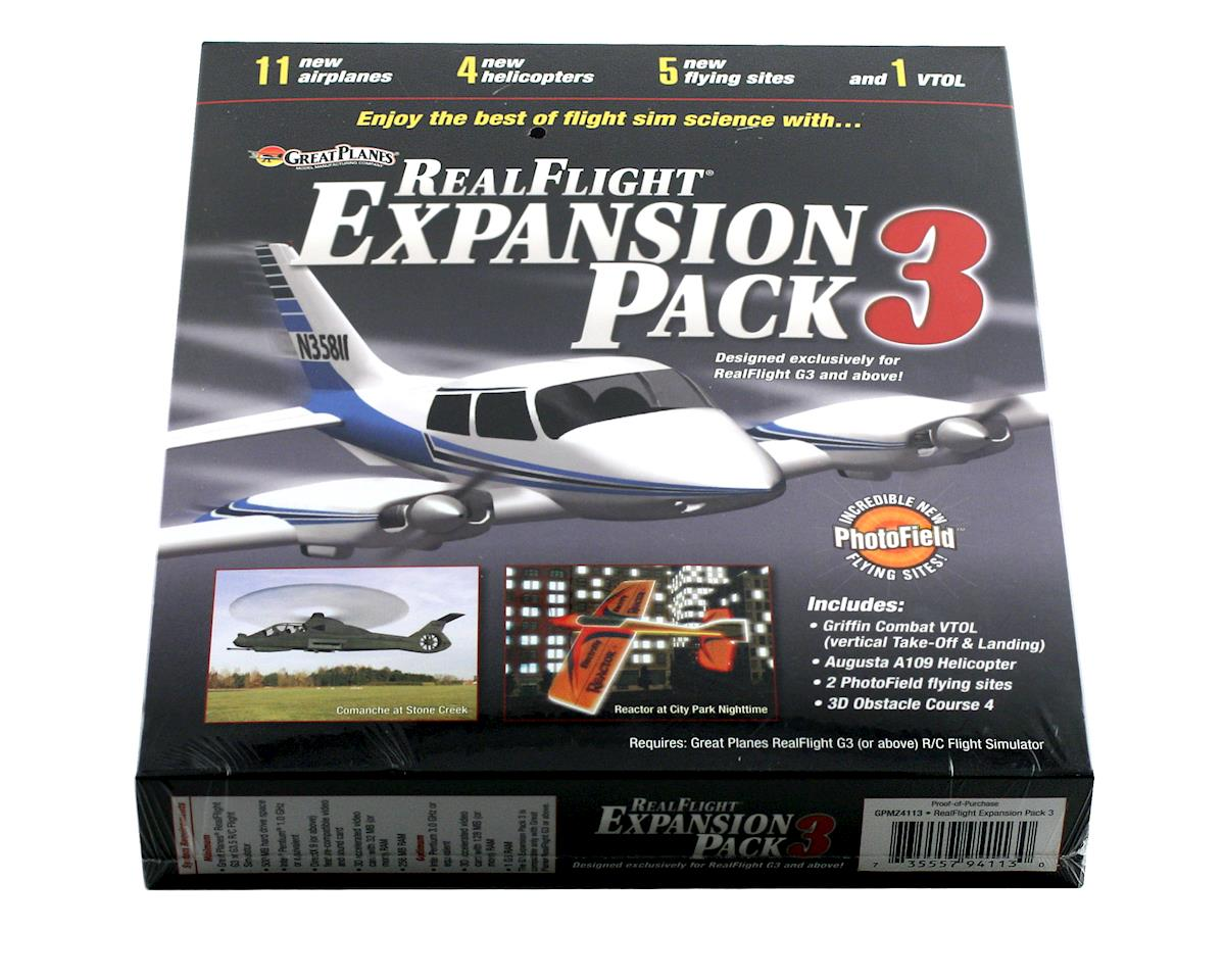 Great Planes RealFlight Expansion Pack 3 (G3 - G6)