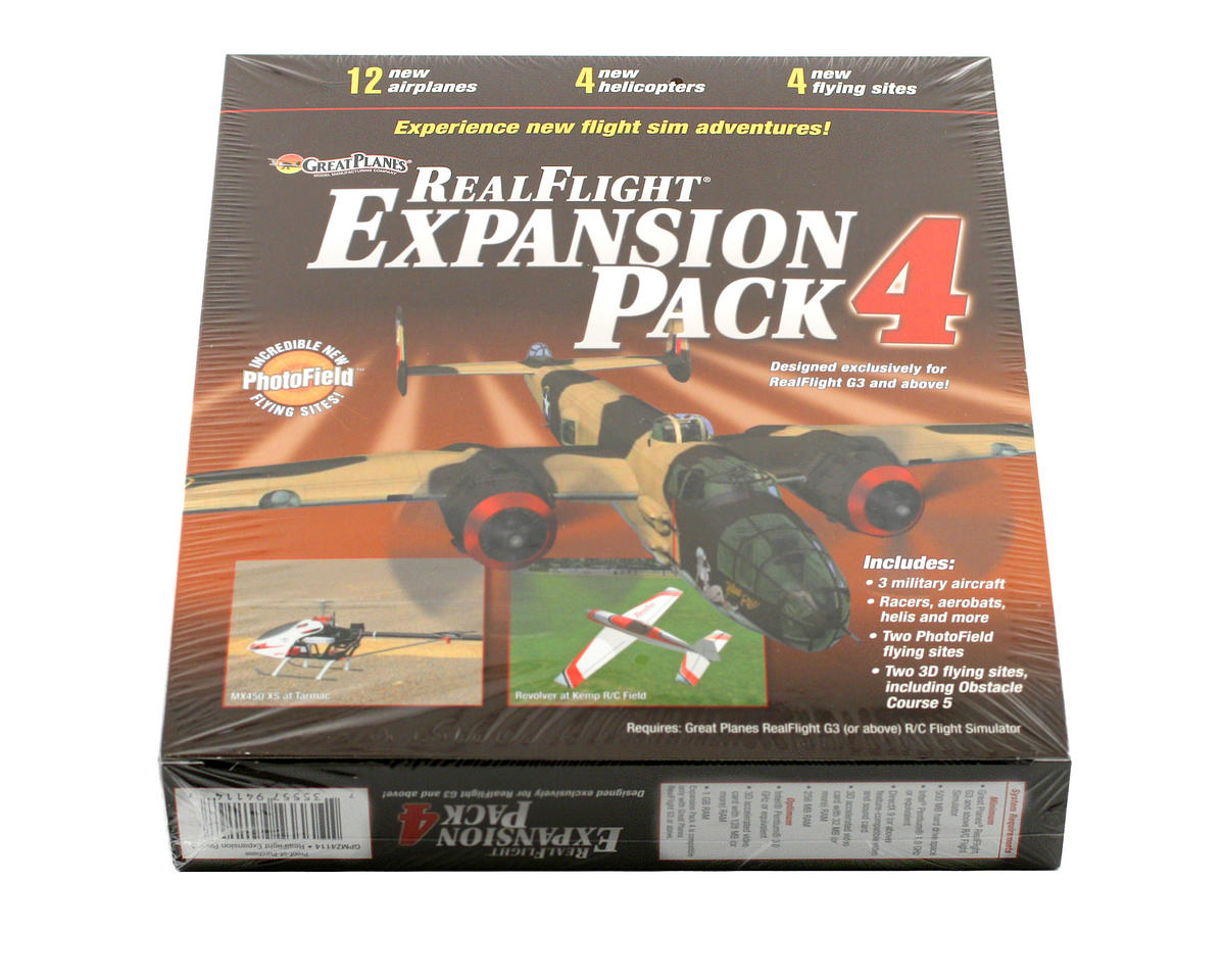 Great Planes RealFlight Expansion Pack 4 (G3 - G6)