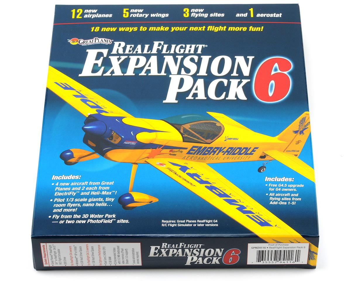 Great Planes RealFlight Expansion Pack 6 (G4 - G6)