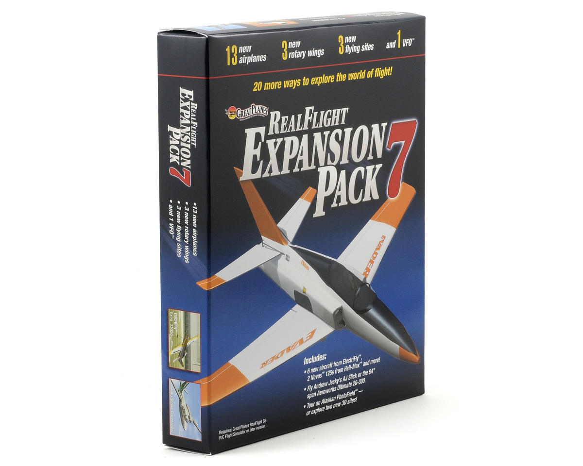 Great Planes RealFlight Expansion Pack 7 (G5 - G6)