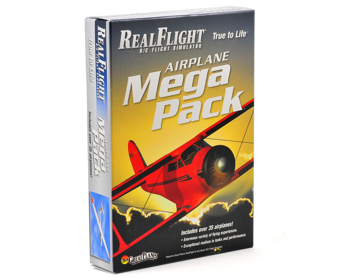 6 Airplane Mega Pack