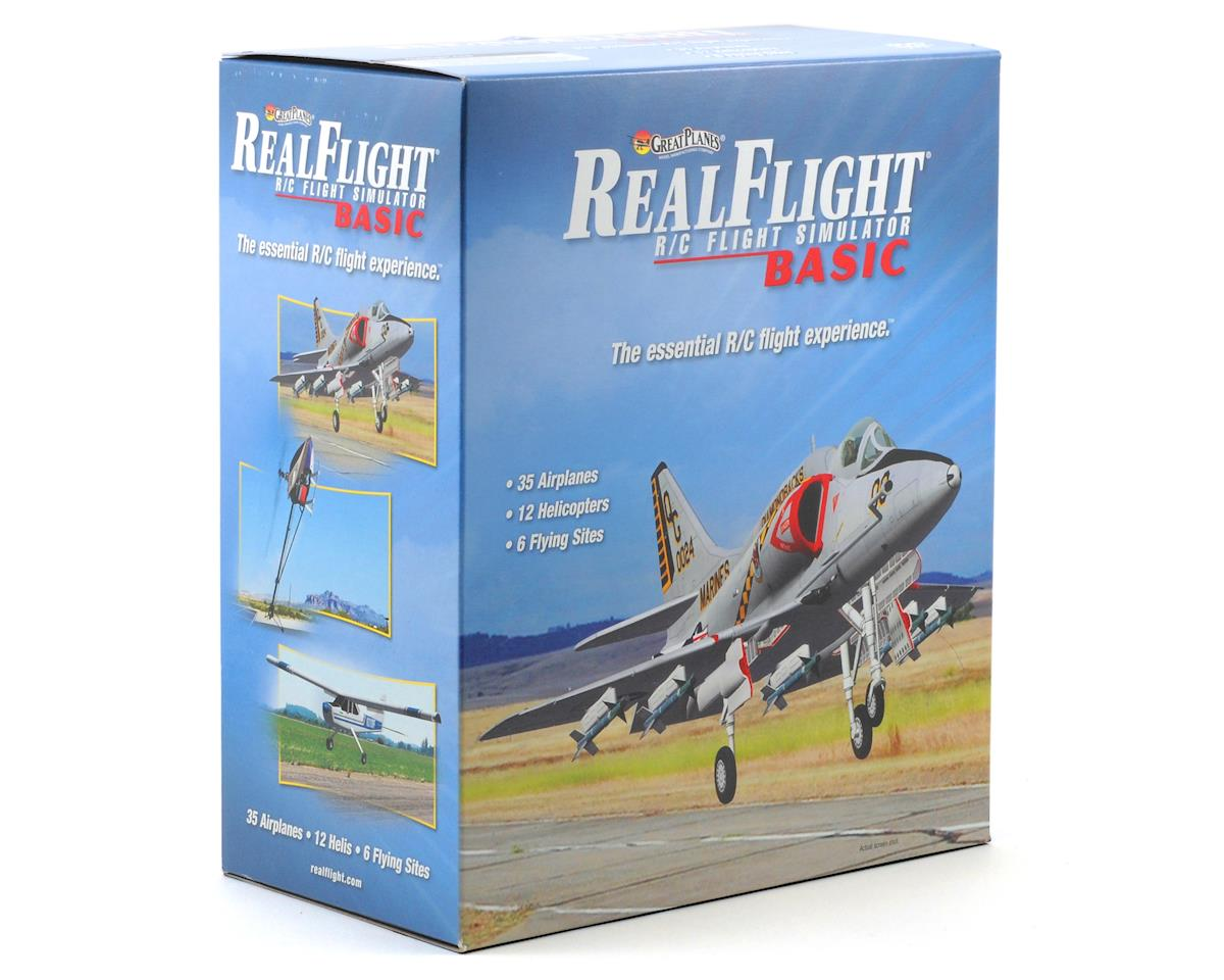 Great Planes RealFlight Basic Version w/Interlink Mode 2 Controller