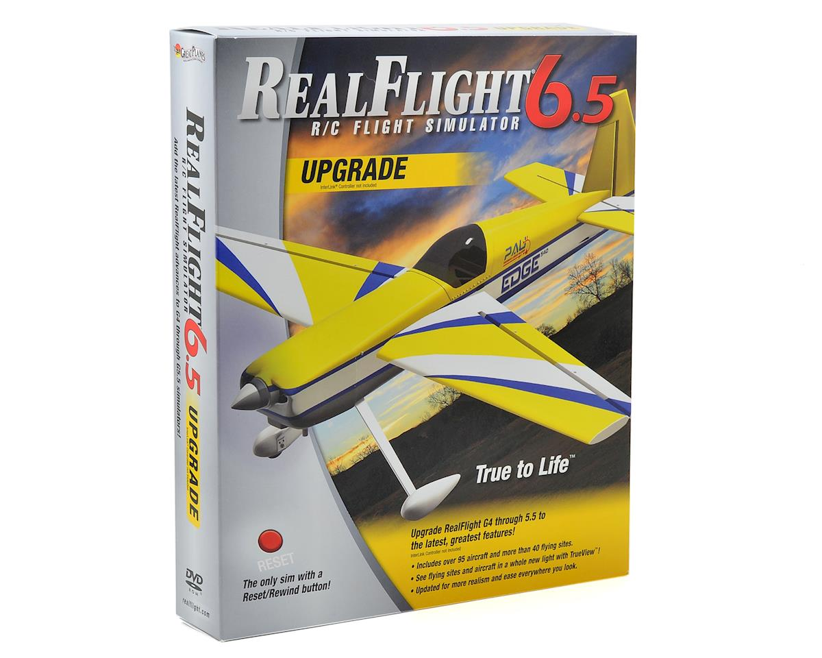 Great Planes RealFlight 6.5 Upgrade Disk (G4 & Above)