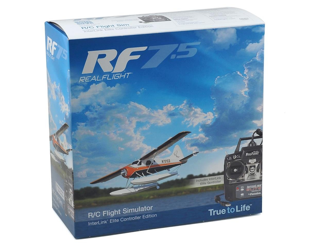 Great Planes RealFlight 7.5 w/Interlink Elite Controller (Mode 2)
