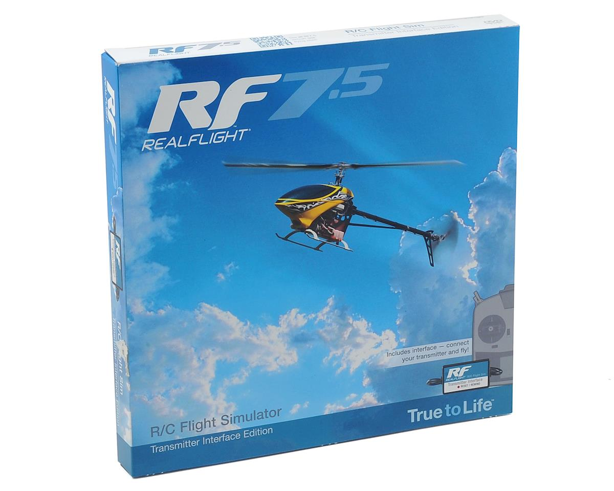 RealFlight 7.5 w/Wired Transmitter Interface by Great Planes