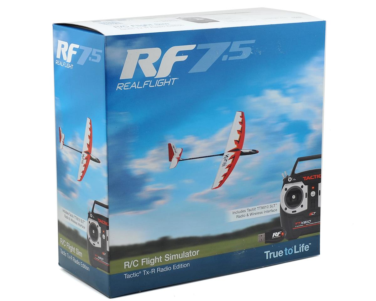 Great Planes RealFlight 7.5 w/Tactic TTX610 Transmitter
