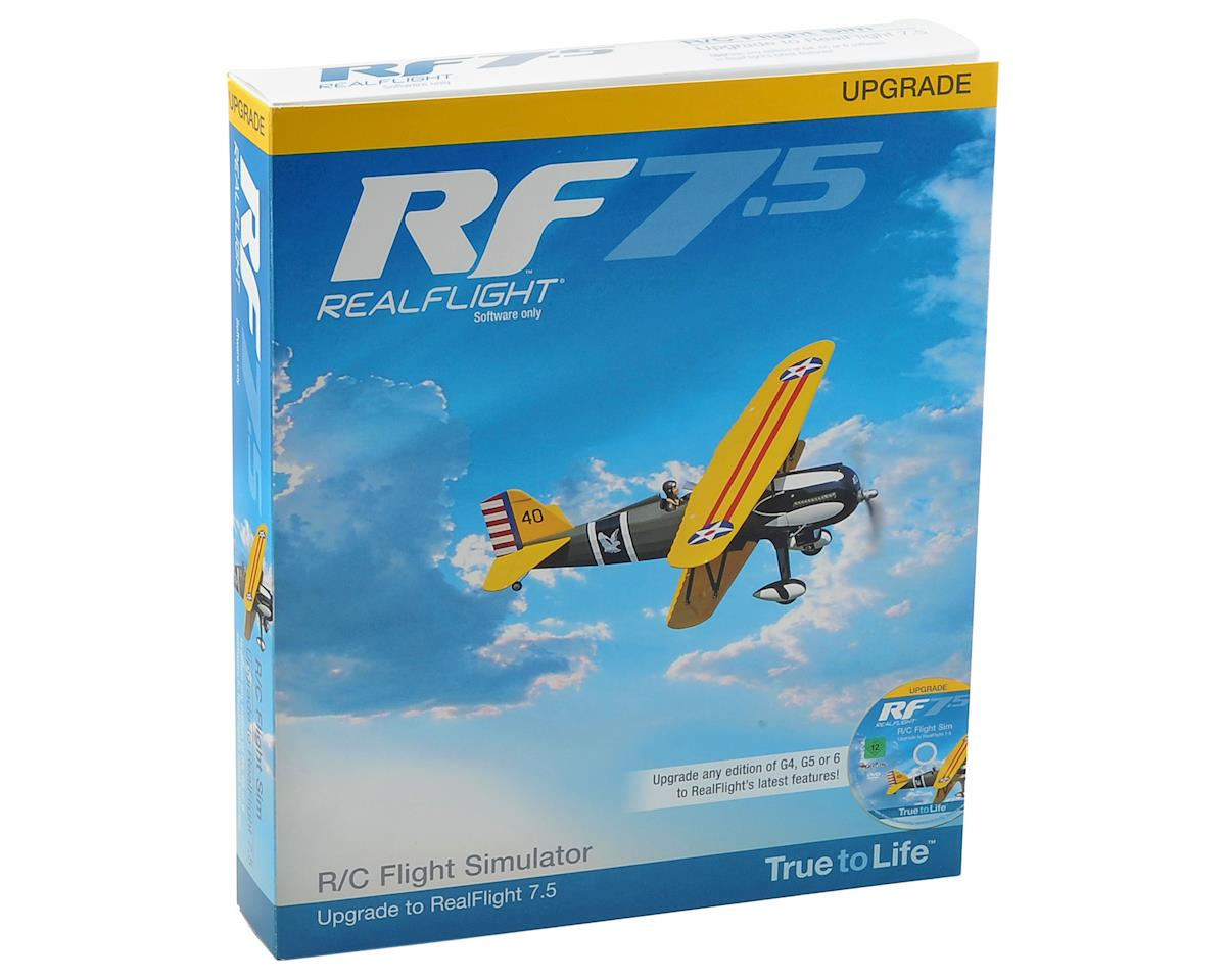 Great Planes RealFlight 7.5 Upgrade Disk (G4 & Above)
