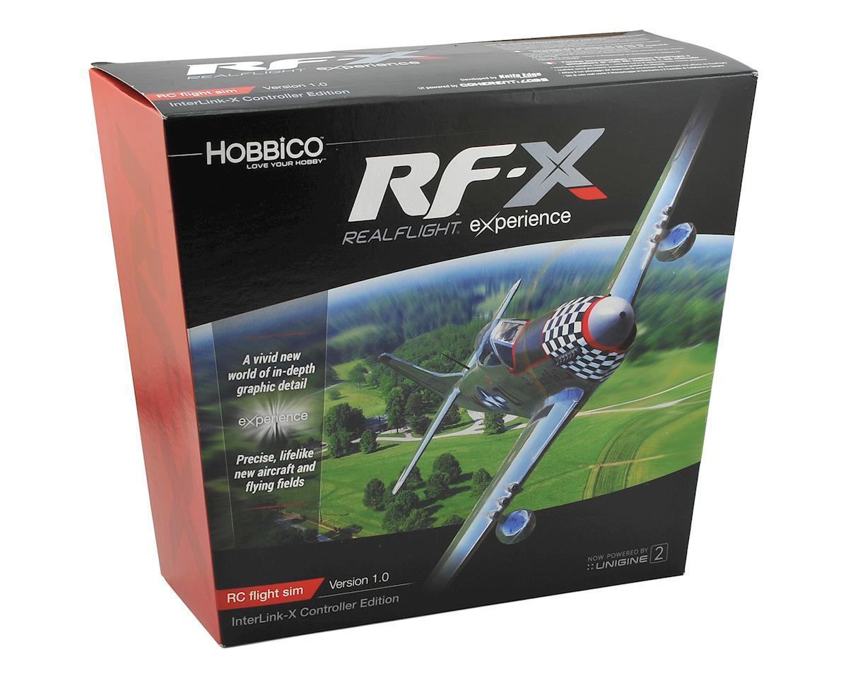 Great Planes Real Flight RF-X Flight Simulator w/Interlink-X Controller  (Mode 2)