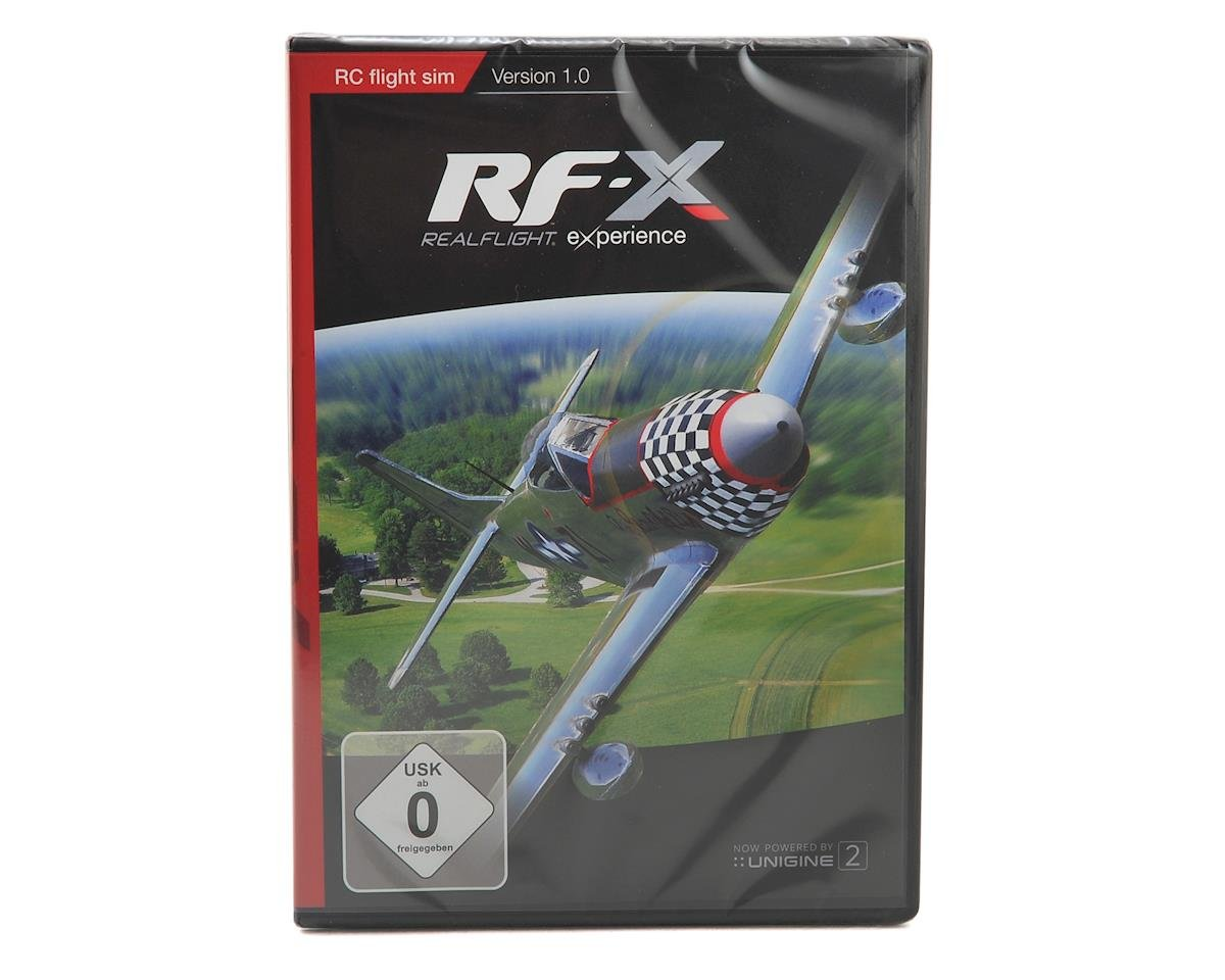 RealFlight RF-X Flight Simulator Upgrade Disk (Software Only) by Great Planes