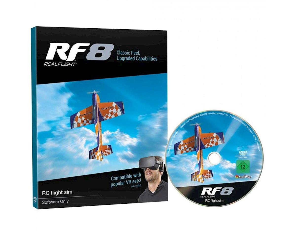 Great Planes RealFlight 8 Flight Simulator Upgrade Disk (Software Only)