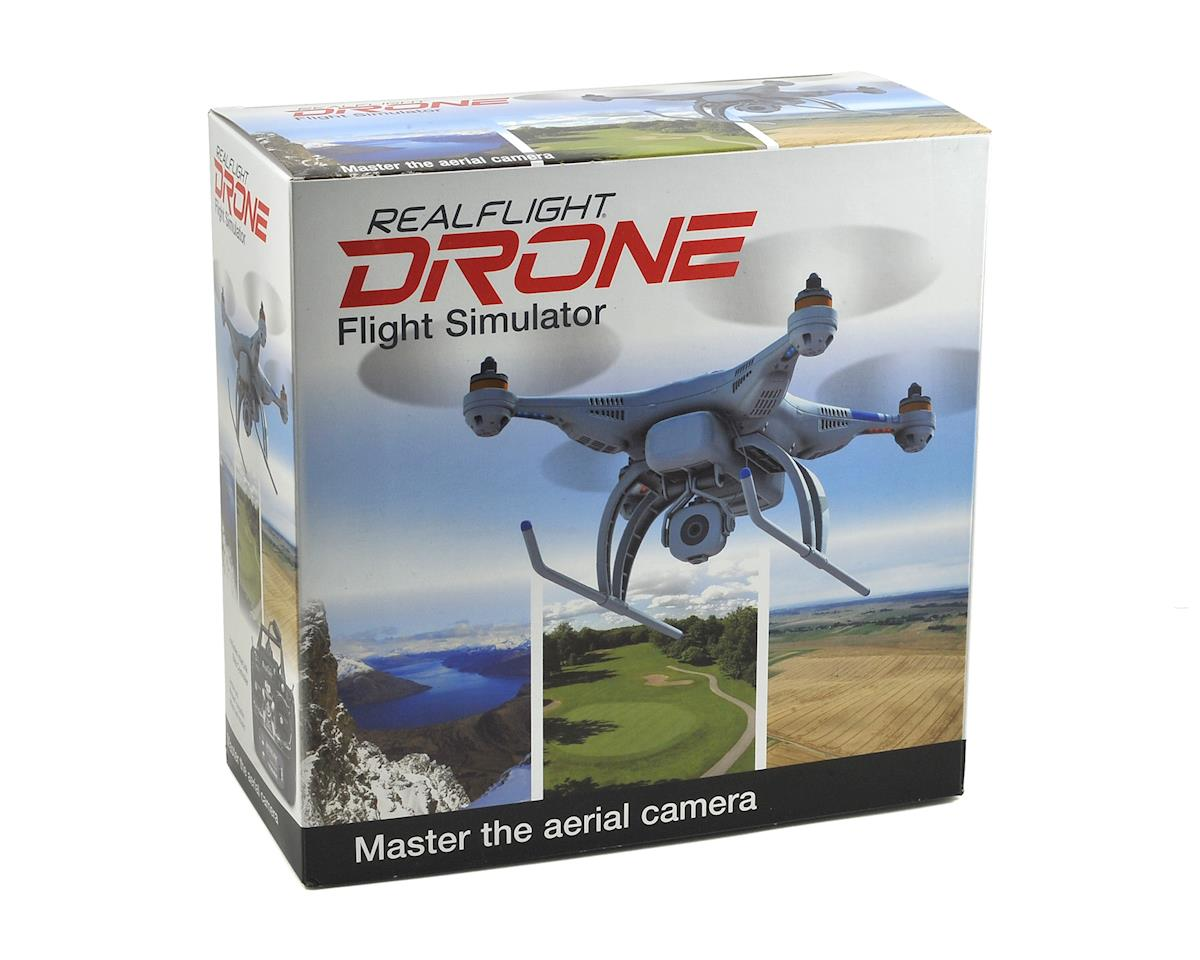Great Planes RealFlight Drone Flight Simulator w/Interlink Mode 2 Controller