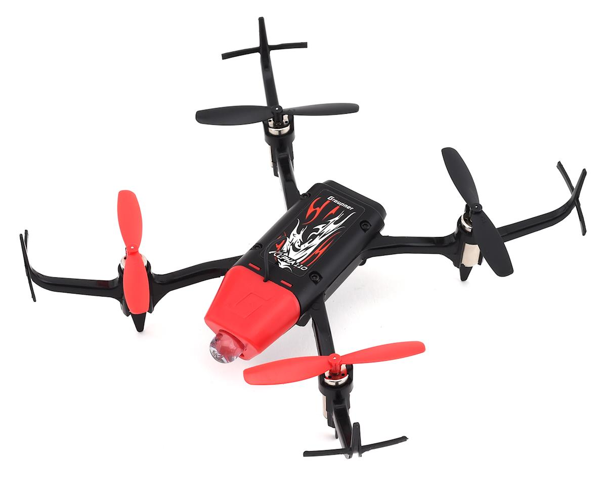 Graupner Alpha 110 FPV RTF Micro Sport Drone (Red)