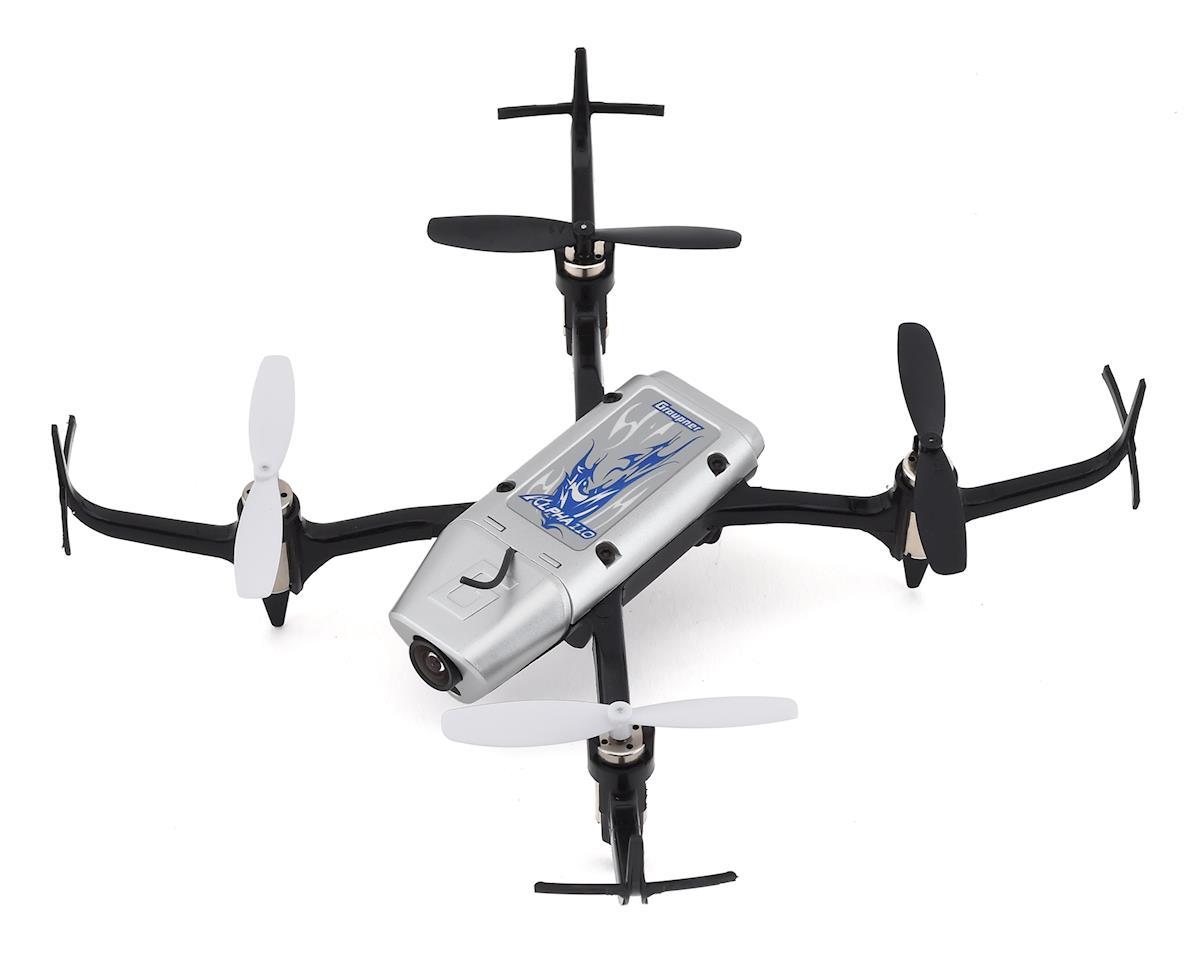 Graupner Alpha 110 FPV RTF Micro Sport Drone (Silver)