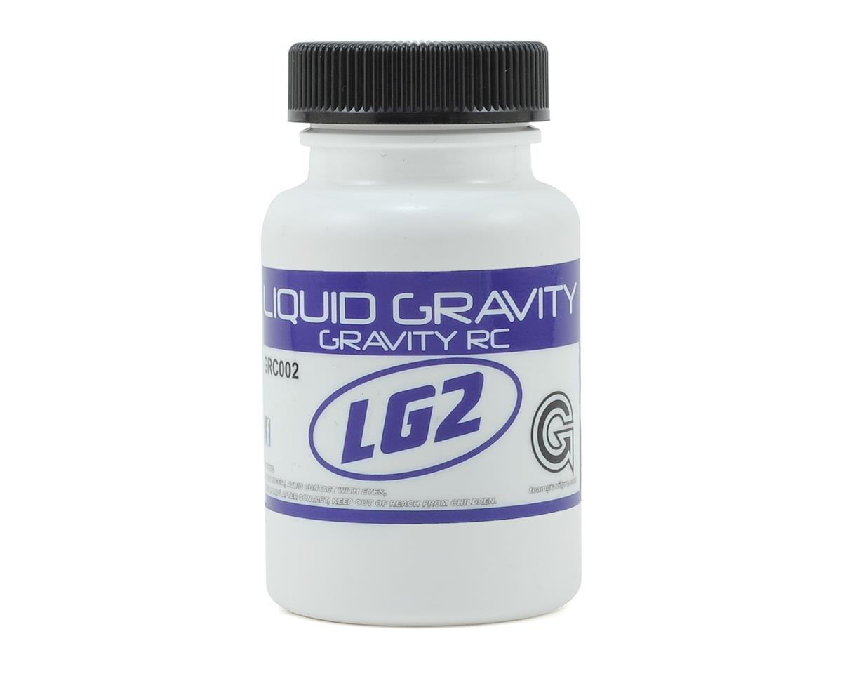 Liquid Gravity LG2 Foam & Rubber Tire Traction Compound (3oz) by Gravity RC