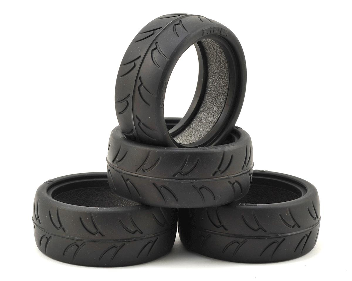Gravity RC USGT Spec GT Rubber Tires & Inserts (4)