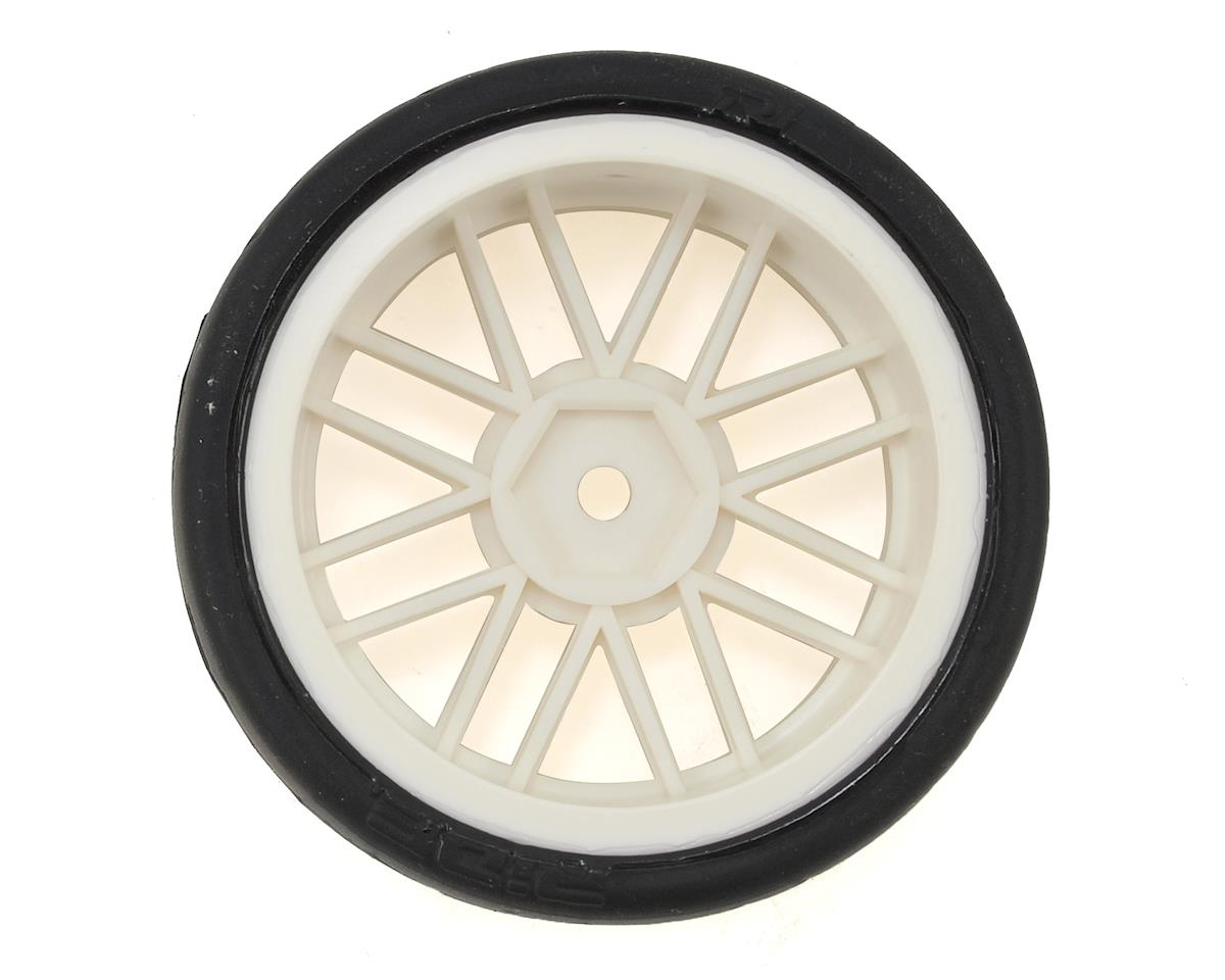 """Gravity RC G-SPEC Type C """"Carpet"""" Pre-Mounted Touring Car Rubber Tires (4)"""